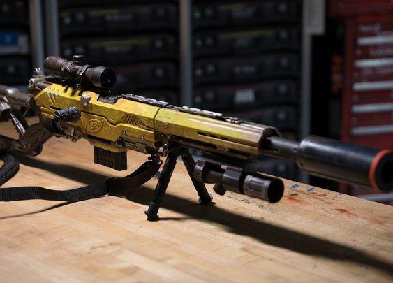 Adam Savage's One Day Builds: Custom NERF Rifle