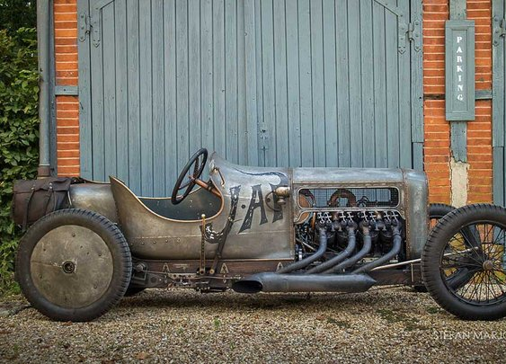 Richard Scaldwell's Sensational JAP V8-Powered GN Cycle Car