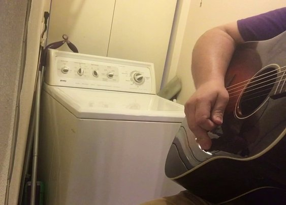 The Devil Went Down To Georgia - Washing Machine Cover