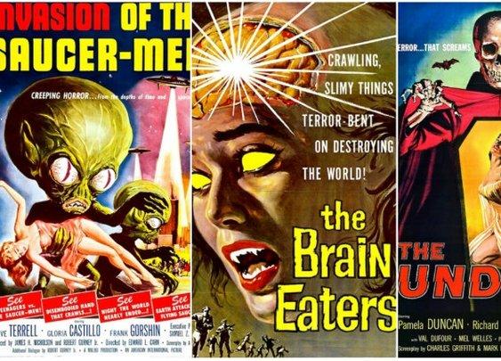 Two Star Movies, Five Star Posters: The B-movie artwork of Albert Kallis | Dangerous Minds