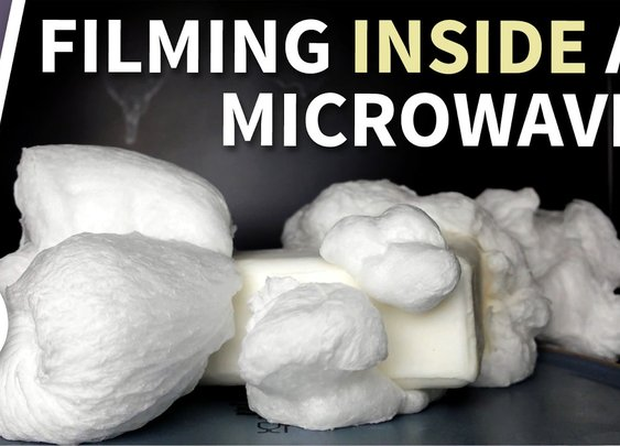 Inside the Microwave - Ivory Soap