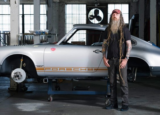 A 360-Video Tour of Magnus Walker's Sweet Rides