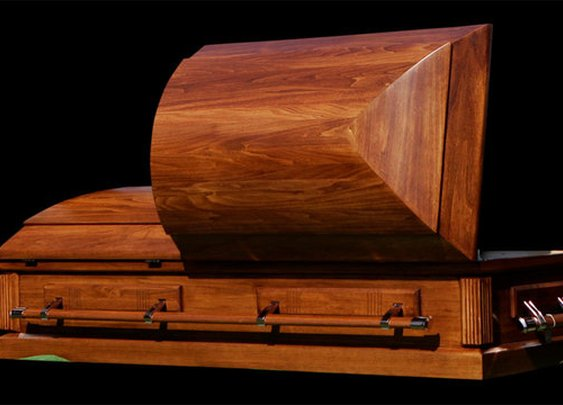 Teen wakes up headed to own funeral