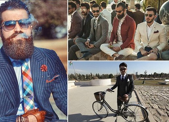 Meet the bearded, pocket-square wearing hipsters of Iraq
