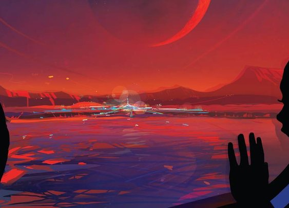 NASA Creates Gorgeous Travel Posters for TRAPPIST-1 Planets | The Daily Dot
