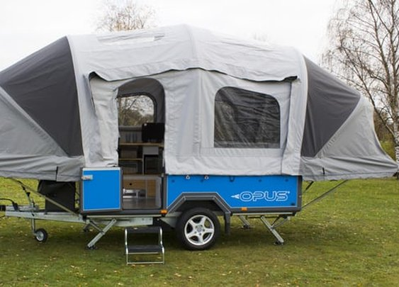 Air Opus camping trailer inflates into a home away from home in 90 seconds
