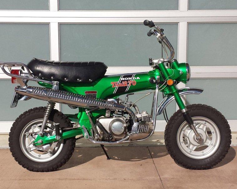 1970 Honda Mini Trail 70 H |  Bring a Trailer