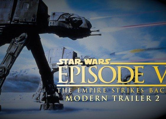 The Empire Strikes Back: A Modern Trailer