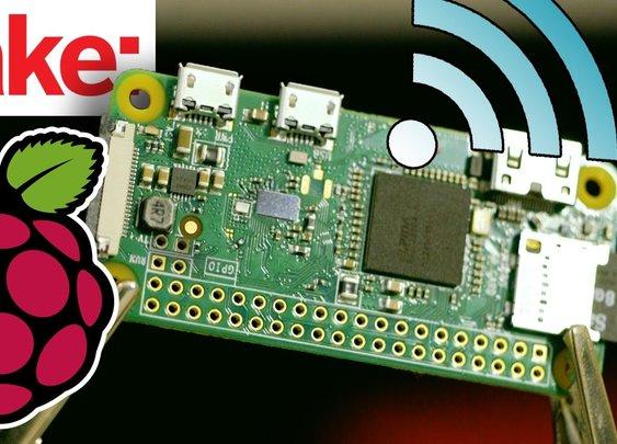Announcing the $10, WiFi-Enabled Raspberry Pi Zero W