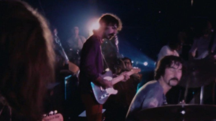 Watch Frank Zappa Sit-In With Pink Floyd In 1969