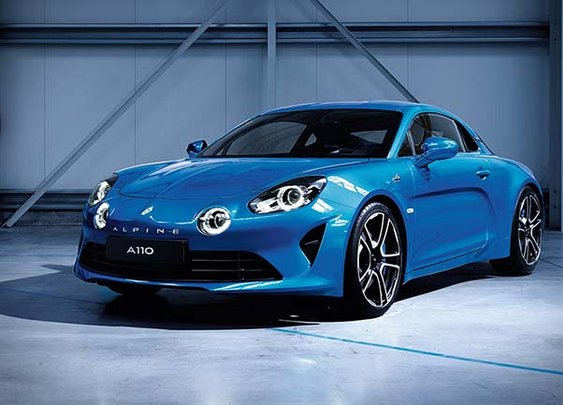 Say Hello To The New Alpine A110