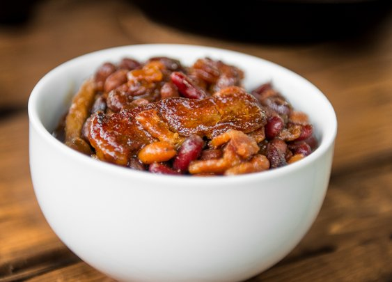 Smoked Steakhouse Beans