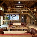 Party Barn With Music Stage and Full Wet Bar