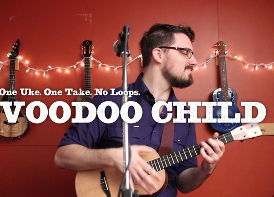 Voodoo Child (Hendrix Ukulele Cover)