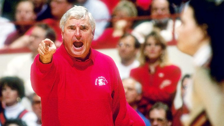 Bob Knight says he hopes his ex-Indiana University bosses are all dead