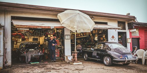 California Calling: The Porsche Repair Guy at the Beach