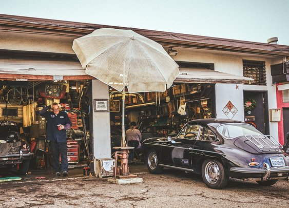 California Calling: The Porsche Repair Guy at the Beach