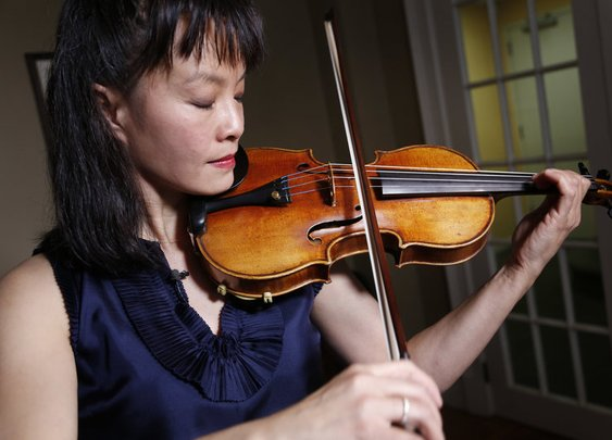 A Stolen, Then Recovered, Stradivarius Returns To The Stage