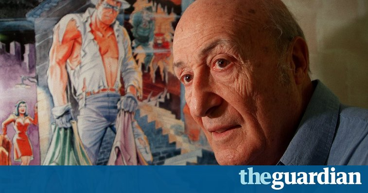 Neil Gaiman on Will Eisner: 'He thought comics were an artform – he was right' | Books | The Guardian