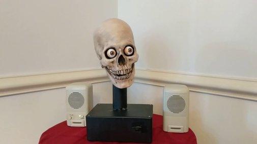Man Hacks Amazon Echo To Talk From a Skull