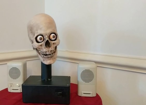 Man Hacks Amazon Echo To Talk From a Skull