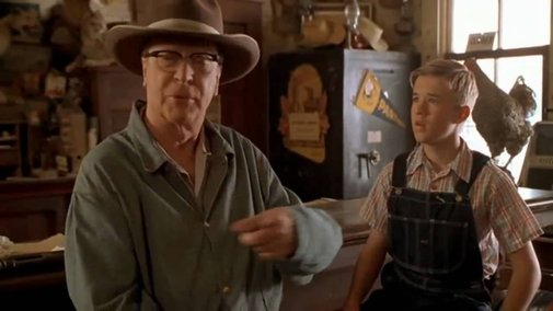 Secondhand Lions Bar Fight Scene