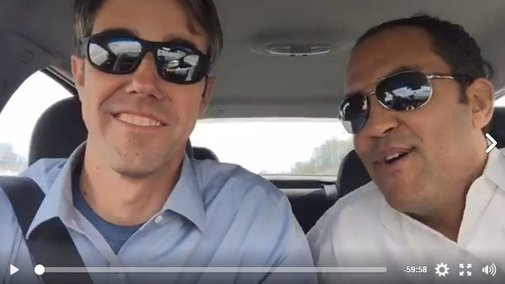Congressmen Will Hurd, Beto O'Rourke Reach D.C. After Bipartisan Road Trip
