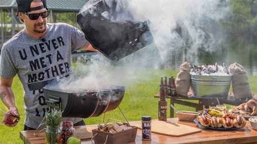 Kid Rock promotes American Badass Grills by shooting at foreign-made competition   Fox News