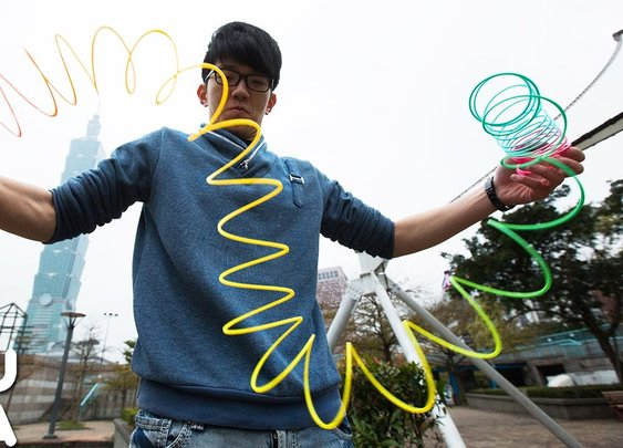Ridiculous Slinky Tricks