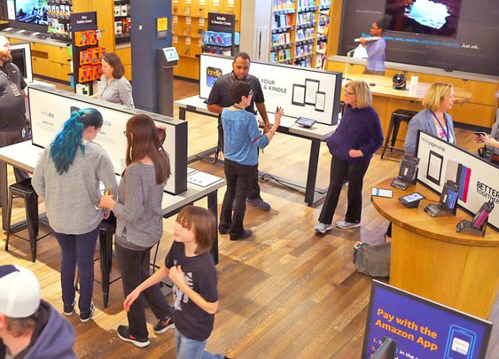 Amazon considers opening augmented reality furniture stores