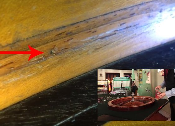 Restoration revealed 1920s roulette table was rigged