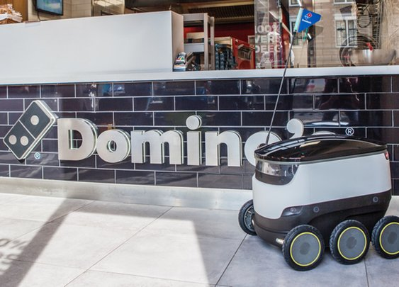 Domino's is going to use sidewalk robots in Germany to deliver pizza