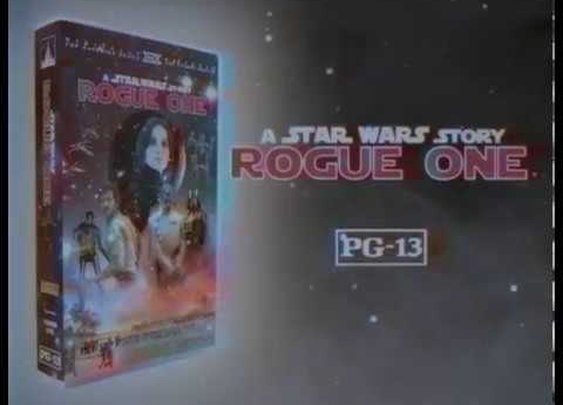 Rogue One VHS trailer commercial