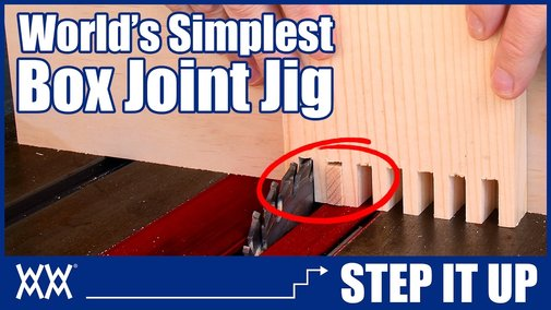 The World's Simplest Box Joint Jig