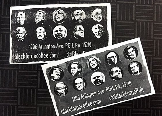 Pittsburgh's Black Forge Coffee to continue carrying controversial loyalty punch cards | Blogh