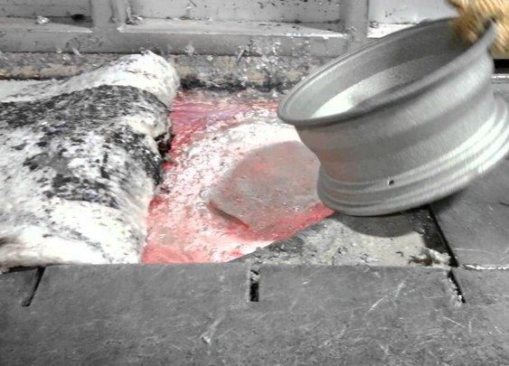 Satisfying Video of Melting Car Rims