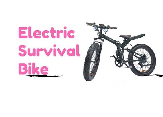 The Ultimate Electric Survival Mountain Bike is the MOAR Fat Tire EBike - YouTube