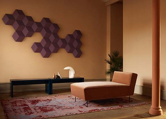 Bang & Olufsen's modular speakers double as wall art
