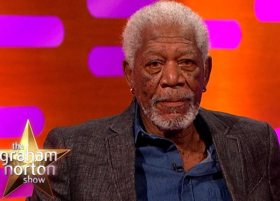 Morgan Freeman Re-Enacts The Shawshank Redemption