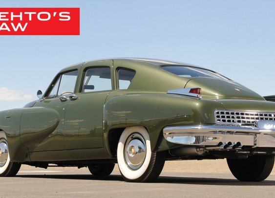 The Tucker 48 Nearly Had an Engine Larger than the Dodge Viper