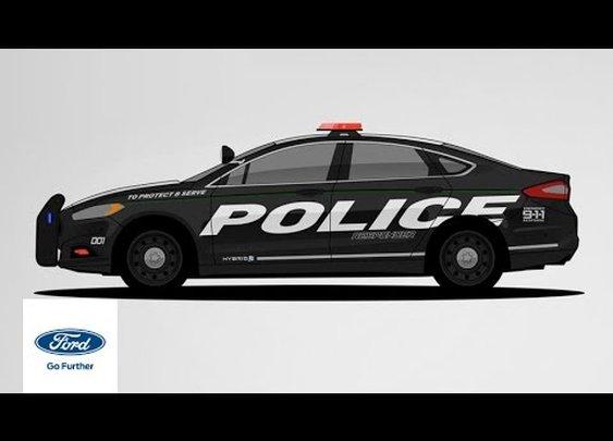 Ford Police Responder Hybrid: The Evolution of Police Vehicles