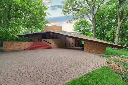Original Frank Lloyd Wright Minnesota House For Sale