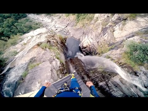 NEW WORLD RECORD | HIGHEST CLIFF DIVING JUMP | LASO SCHALLER 58.80 m / 192 ft