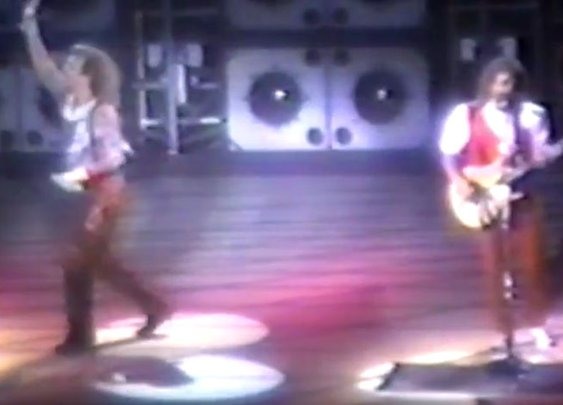 The Only Full Concert Video from Van Halen's 1984 Tour