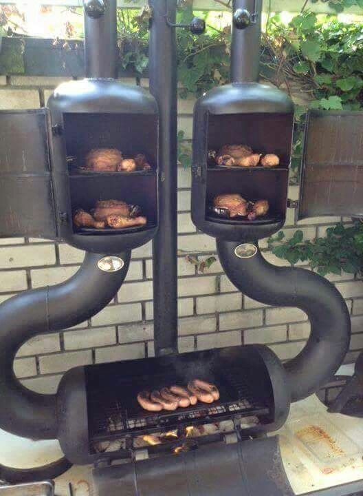 Crazy Grill/Smoker