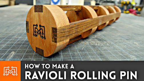 How to Make a Ravioli Rolling Pin