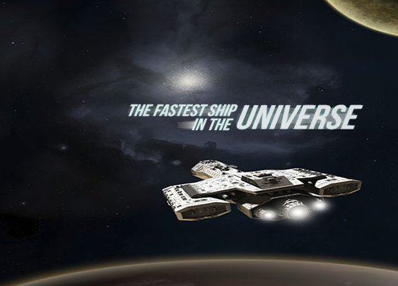 Fastest Ship in the Universe: How Sci-Fi Ships Stack Up