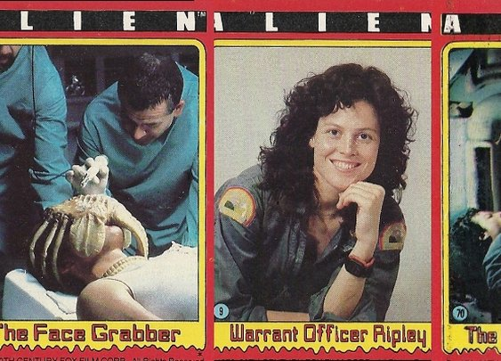 Holy shit, they really made bubblegum trading cards for the first 'Alien' movie! | Dangerous Minds