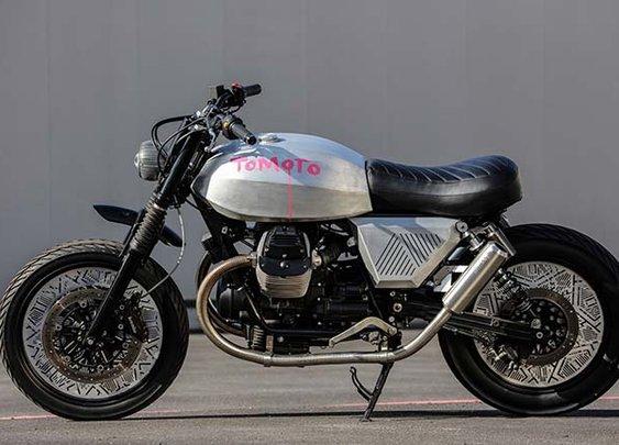 Tomoto by Tom Dixon x Moto Guzzi