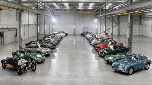 £65 million worth of Aston Martins unleashed at new St Athan plant | Aston Martin